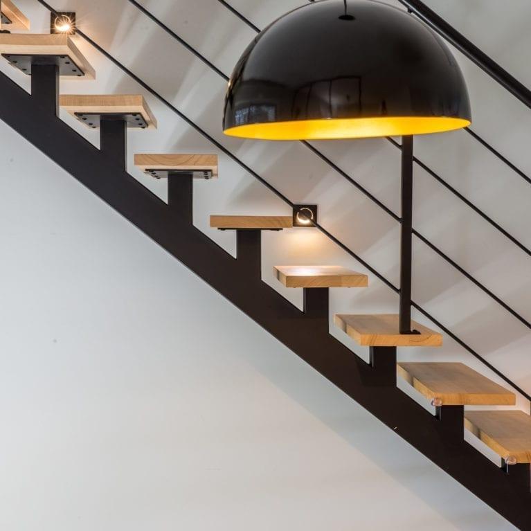 Eclairage balisage escalier