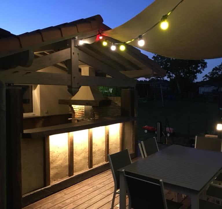 Eclairage - Eclairage terrasse et cuisine extérieure (5)