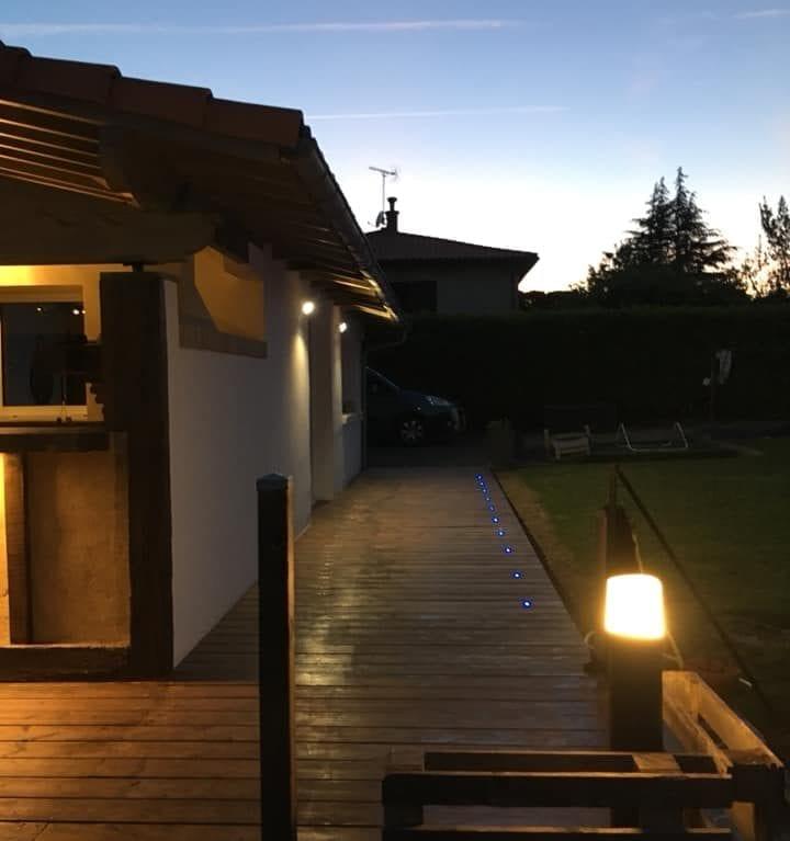 Eclairage - Eclairage terrasse et cuisine extérieure (6)
