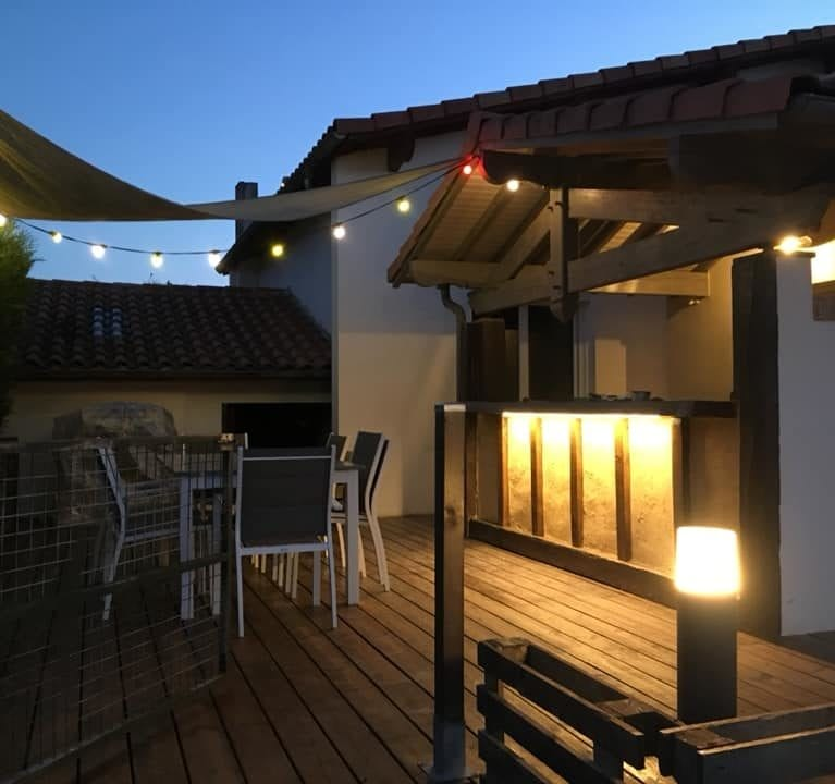 Eclairage - Eclairage terrasse et cuisine extérieure (7)
